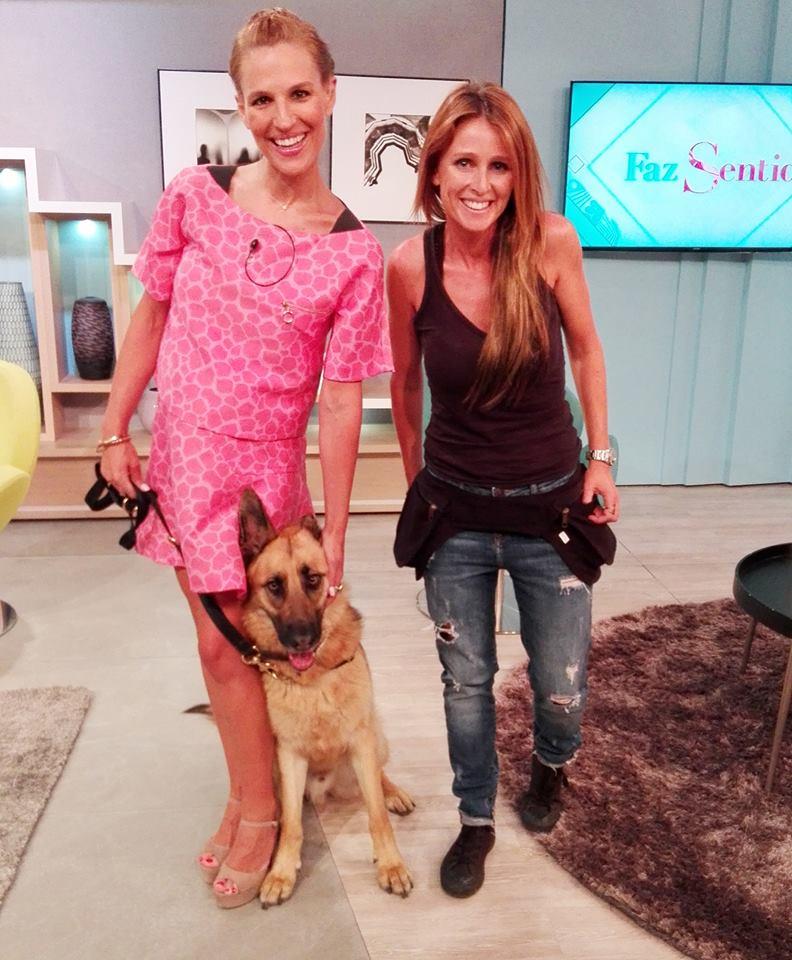 Com Ana Rita Clara no programa Faz Sentido da SIC Mulher