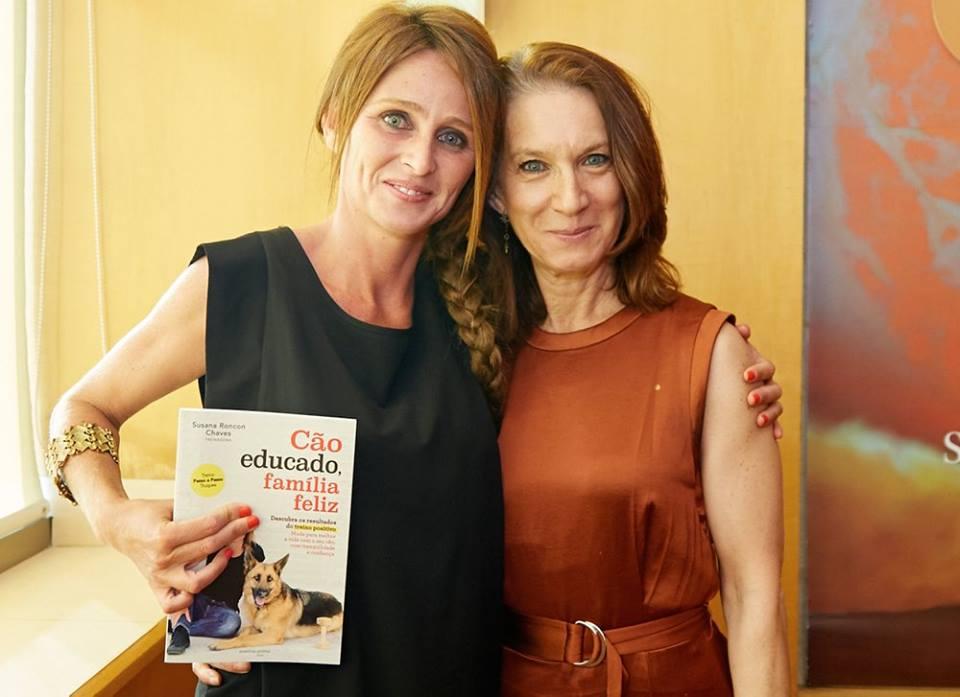 """Com Custódia Galego no lançamento """"Cão educado, família feliz"""""""